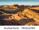 sunset at rock formations near... | Shutterstock . vector #784261984