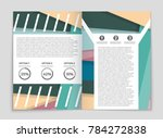 abstract vector layout... | Shutterstock .eps vector #784272838