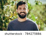 portrait of an attractive adult ... | Shutterstock . vector #784275886