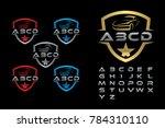 auto car  car logo template ... | Shutterstock .eps vector #784310110