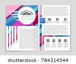 abstract vector layout... | Shutterstock .eps vector #784314544