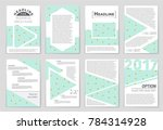 abstract vector layout... | Shutterstock .eps vector #784314928