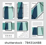 abstract vector layout... | Shutterstock .eps vector #784316488
