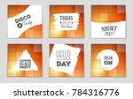 abstract vector layout...   Shutterstock .eps vector #784316776