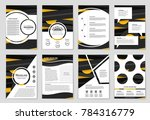 abstract vector layout... | Shutterstock .eps vector #784316779