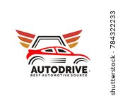 car logo vector illustration... | Shutterstock .eps vector #784322233