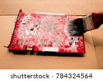Small photo of Cleaning of electronic equipment