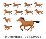 Animation Sequence Horse...