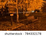 autumn evening in the city | Shutterstock . vector #784332178