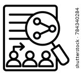 data driven hr  or talent... | Shutterstock .eps vector #784340284
