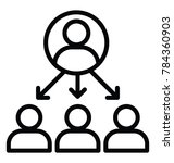line vector icon design of... | Shutterstock .eps vector #784360903