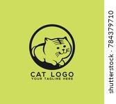 cat logo design vector | Shutterstock .eps vector #784379710