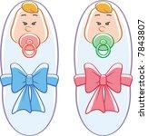 twins | Shutterstock .eps vector #7843807