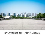 lake with city | Shutterstock . vector #784428538