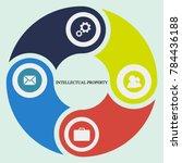 business infographics. pie... | Shutterstock .eps vector #784436188