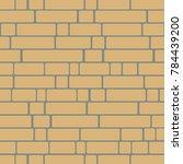 seamless texture of a brick...   Shutterstock .eps vector #784439200
