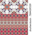 ethnic endless ornamental...   Shutterstock .eps vector #784439539