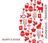 vector illustrations of card of ... | Shutterstock .eps vector #784441609