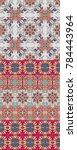 ethnic ornamental print for... | Shutterstock .eps vector #784443964
