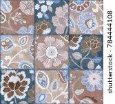 watercolor artwork colorful had ... | Shutterstock . vector #784444108
