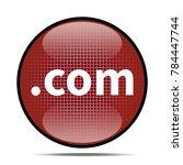 .com icon .internet button.3d...   Shutterstock . vector #784447744