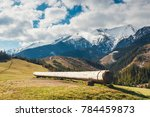 view of tatra mountains in... | Shutterstock . vector #784459873