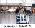 joyful start of journey.... | Shutterstock . vector #784482280