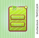 gui popup shop game  button...