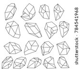 Diamond 3d Shapes. Natural...
