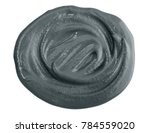 black cosmetic clay  isolated... | Shutterstock . vector #784559020