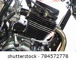 concept of modern vehicle motor ... | Shutterstock . vector #784572778