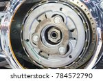 concept of modern vehicle motor ... | Shutterstock . vector #784572790
