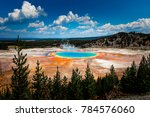 Grand Prismatic Spring View At...