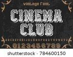 font.alphabet.script.typeface...   Shutterstock .eps vector #784600150