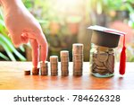 coins saving finance investment ... | Shutterstock . vector #784626328