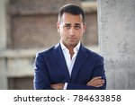 Small photo of Turin, Italy - September 17, 2017: Luigi Di Maio, political leader of the 5-star movement