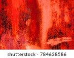 metallic background. colored... | Shutterstock . vector #784638586