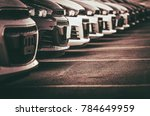car sales and loan industry... | Shutterstock . vector #784649959