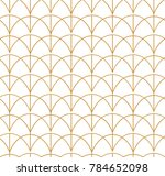abstract art deco seamless... | Shutterstock .eps vector #784652098