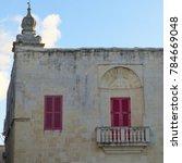 mdina  malta   malta   november ...   Shutterstock . vector #784669048