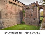 external walls  entrance tower... | Shutterstock . vector #784669768
