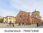 milan  italy   october 29  2017 ... | Shutterstock . vector #784671868