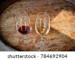 tasting of portuguese port red... | Shutterstock . vector #784692904