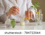 the scientist dermatologist...   Shutterstock . vector #784722064