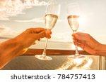 luxury cruise ship travel...   Shutterstock . vector #784757413