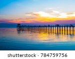 View Gulf Thailand Bridge Twilight - Fine Art prints