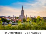 wat arun is one of famous... | Shutterstock . vector #784760839