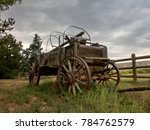Stagecoach Covered Wagon Rustic ...