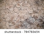 drought  the ground cracks  no... | Shutterstock . vector #784783654