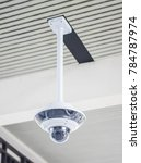 Small photo of 360 IP cam Camera outdoor Closed-Circuit television or cctv.